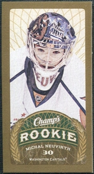 2009/10 Upper Deck Champ's Mini Red Backs #160 Michal Neuvirth RC