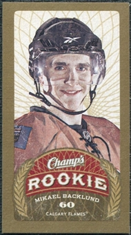 2009/10 Upper Deck Champ's Mini Red Backs #162 Mikael Backlund RC