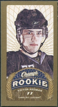 2009/10 Upper Deck Champ's Mini Green Backs #187 Victor Hedman RC