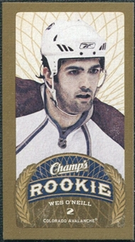 2009/10 Upper Deck Champ's Mini Red Backs #190 Wes O'Neill RC