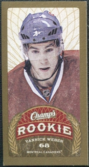 2009/10 Upper Deck Champ's Mini Green Backs #191 Yannick Weber RC