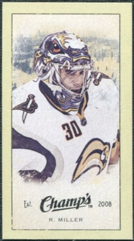 2009/10 Upper Deck Champ's Mini Green Backs #210 Ryan Miller