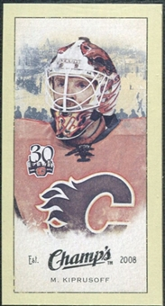 2009/10 Upper Deck Champ's Mini Green Backs #211 Miikka Kiprusoff