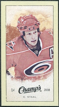 2009/10 Upper Deck Champ's Mini Green Backs #215 Eric Staal