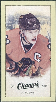 2009/10 Upper Deck Champ's Mini Green Backs #217 Jonathan Toews