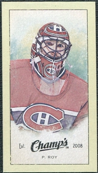 2009/10 Upper Deck Champ's Mini Green Backs #253 Patrick Roy
