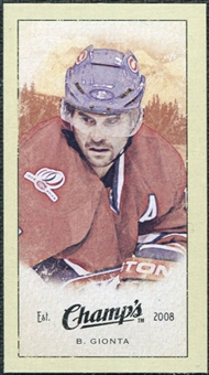 2009/10 Upper Deck Champ's Mini Green Backs #254 Brian Gionta