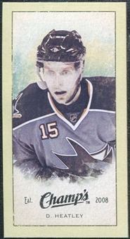 2009/10 Upper Deck Champ's Mini Green Backs #281 Dany Heatley