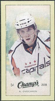 2009/10 Upper Deck Champ's Mini Green Backs #292 Alexander Ovechkin