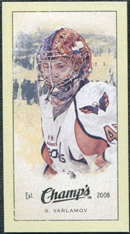 2009/10 Upper Deck Champ's Mini Green Backs #295 Simeon Varlamov
