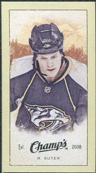 2009/10 Upper Deck Champ's Mini Green Backs #317 Ryan Suter