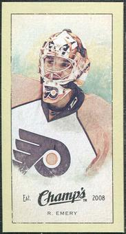 2009/10 Upper Deck Champ's Mini Green Backs #321 Ray Emery