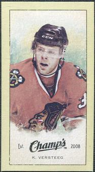 2009/10 Upper Deck Champ's Mini Green Backs #322 Kris Versteeg