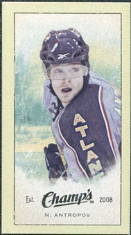 2009/10 Upper Deck Champ's Mini Green Backs #323 Nik Antropov