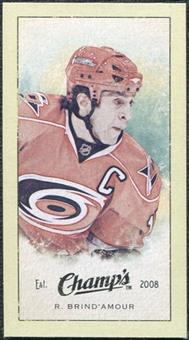 2009/10 Upper Deck Champ's Mini Green Backs #365 Rod Brind`Amour