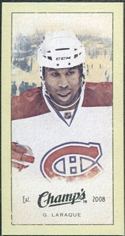 2009/10 Upper Deck Champ's Mini Green Backs #376 Georges Laraque
