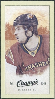 2009/10 Upper Deck Champ's Mini Green Backs #384 Zach Bogosian