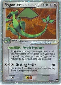 Pokemon Power Keepers Single Flygon ex 94/108 - SLIGHT PLAY (SP)