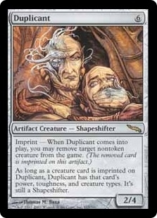 Magic the Gathering Mirrodin Single Duplicant - MODERATE PLAY (MP)