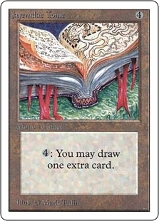 Magic the Gathering Unlimited Single Jayemdae Tome - SLIGHT PLAY (SP)