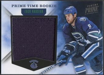 2011/12 Panini Prime #15 Zack Kassian Prime Time Rookie Jersey #16/99