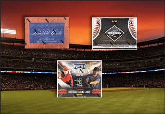 COMBO DEAL - 2011 Panini Baseball Hobby Boxes (Limited Cuts, Limited, Contenders)