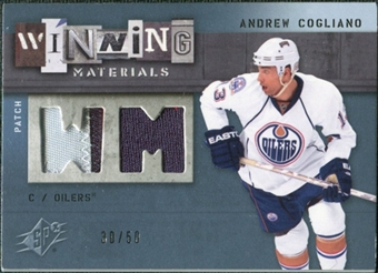 2009/10 Upper Deck SPx Winning Materials Spectrum Patches #WMAC Andrew Cogliano /50