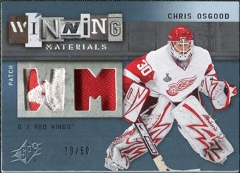 2009/10 Upper Deck SPx Winning Materials Spectrum Patches #WMCO Chris Osgood /50