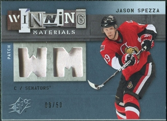 2009/10 Upper Deck SPx Winning Materials Spectrum Patches #WMJS Jason Spezza /50