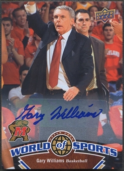 2010 Upper Deck World of Sports #346 Gary Williams Auto