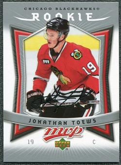 2007/08 Upper Deck MVP #351 Jonathan Toews RC
