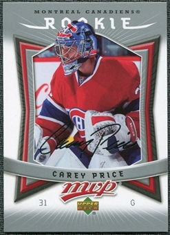 2007/08 Upper Deck MVP #352 Carey Price RC