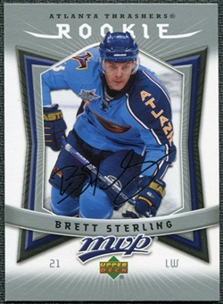 2007/08 Upper Deck MVP #371 Brett Sterling RC