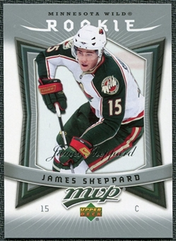 2007/08 Upper Deck MVP #374 James Sheppard RC