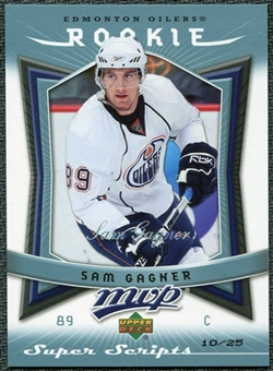 2007/08 Upper Deck MVP Super Script #354 Sam Gagner RC 10/25