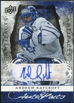 2008/09 Upper Deck Artifacts Autofacts #AFAR Andrew Raycroft Autograph