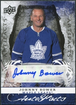 2008/09 Upper Deck Artifacts Autofacts #AFBJ Johnny Bower Autograph