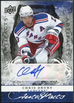 2008/09 Upper Deck Artifacts Autofacts #AFCD Chris Drury Autograph