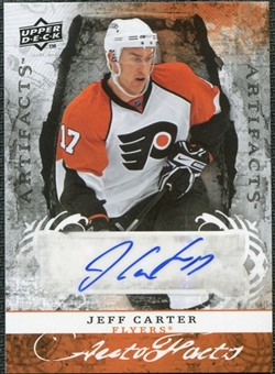 2008/09 Upper Deck Artifacts Autofacts #AFJC Jeff Carter Autograph