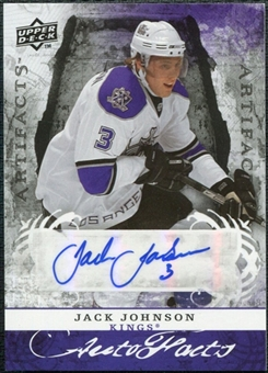 2008/09 Upper Deck Artifacts Autofacts #AFJJ Jack Johnson Autograph