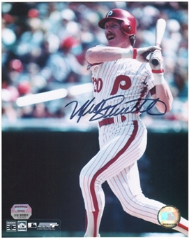 Mike Schmidt Autographed Philadelphia Phillies 8x10 Photo