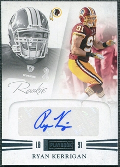 2011 Panini Playbook Gold #85 Ryan Kerrigan RC Autograph /49