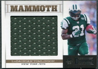 2011 Panini Playbook Mammoth Materials #20 LaDainian Tomlinson /99