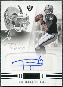 2011 Panini Playbook #88 Terrelle Pryor Autograph /299