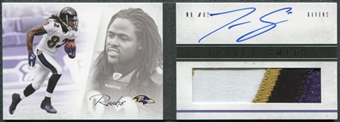 2011 Panini Playbook #134 Torrey Smith RC Jersey Autograph /399