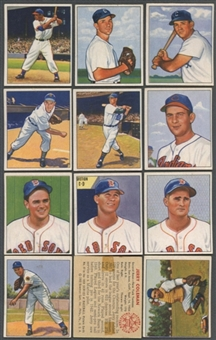 1950 Bowman Baseball Starter Set (126 Different) GOOD