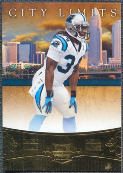 2011 Panini Plates and Patches City Limits #4 DeAngelo Williams /249