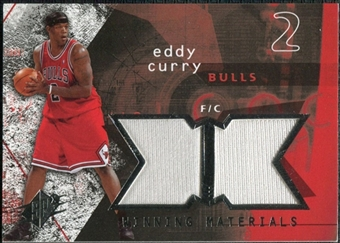2004/05 Upper Deck SPx Winning Materials #EC Eddy Curry