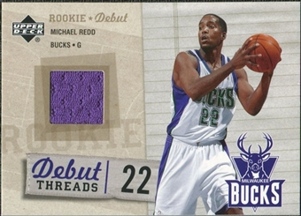 2005/06 Upper Deck Rookie Debut Threads #MR Michael Redd
