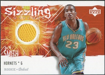 2005/06 Upper Deck Rookie Debut Sizzling Swatches #JR J.R. Smith